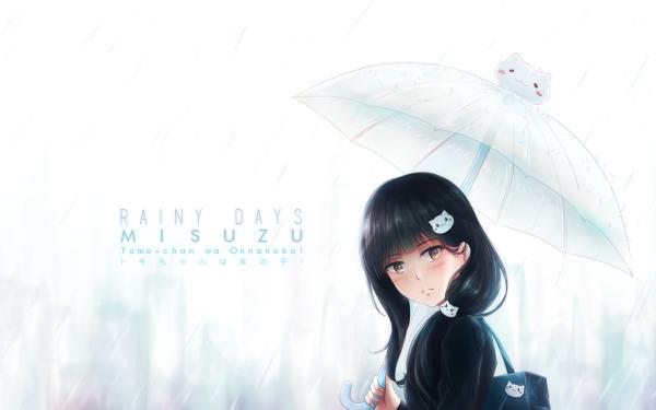Anime Tomo-chan wa Onnanoko! Misuzu Gundou HD Wallpaper | Background Image