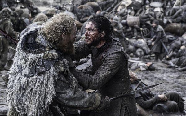 TV Show Game Of Thrones Kristofer Hivju Tormund Giantsbane Jon Snow Kit Harington HD Wallpaper | Background Image