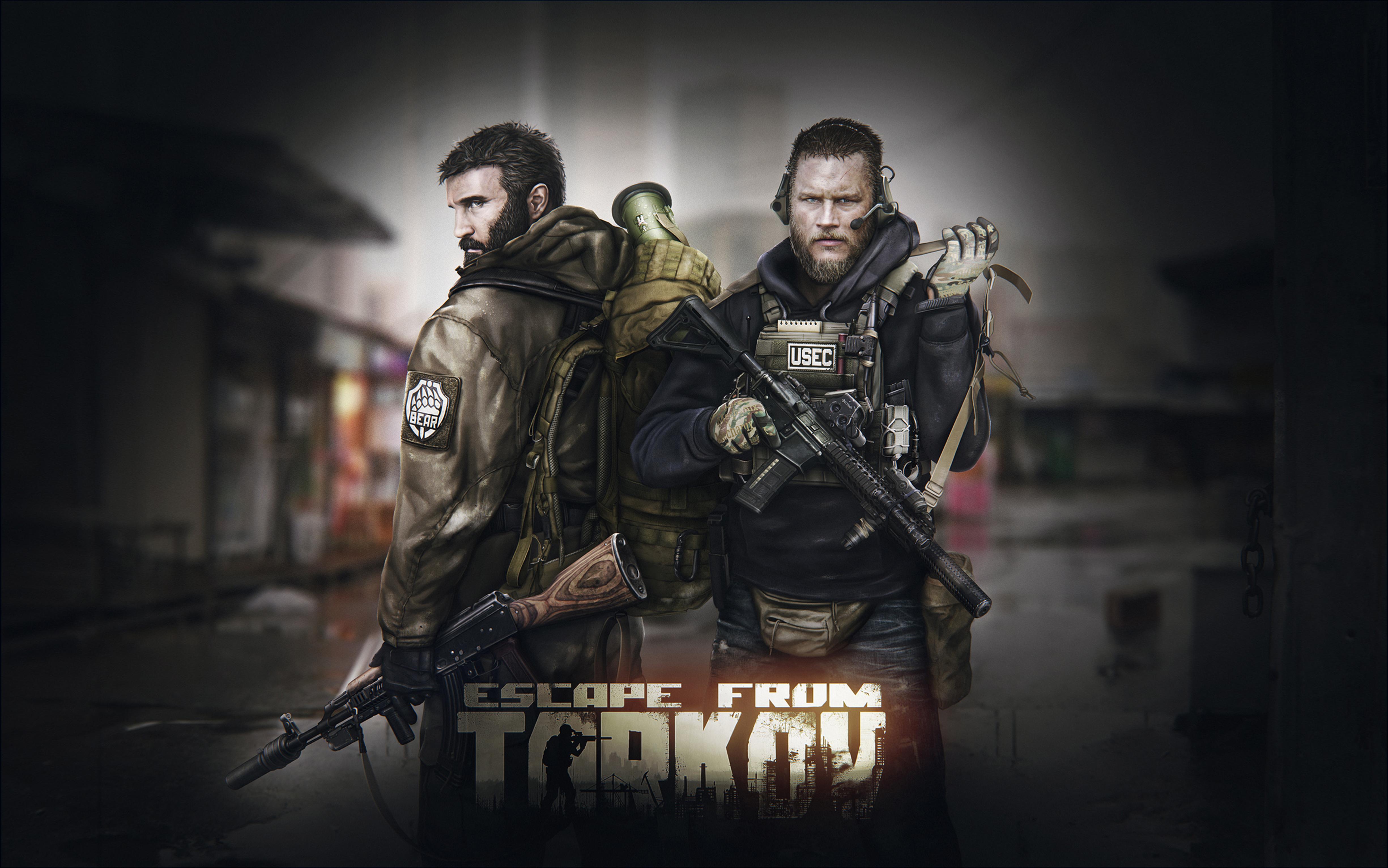 Escape From Tarkov 4k Ultra Fondo De Pantalla Hd Fondo De