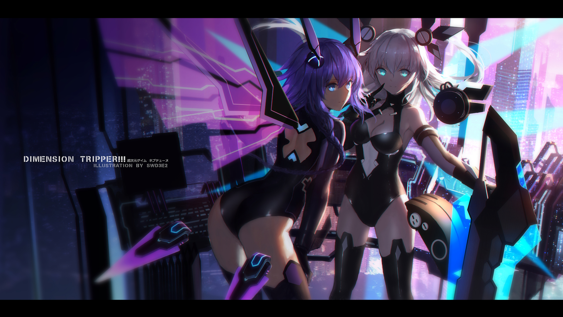 30 Noire Hyperdimension Neptunia Hd Wallpapers Background