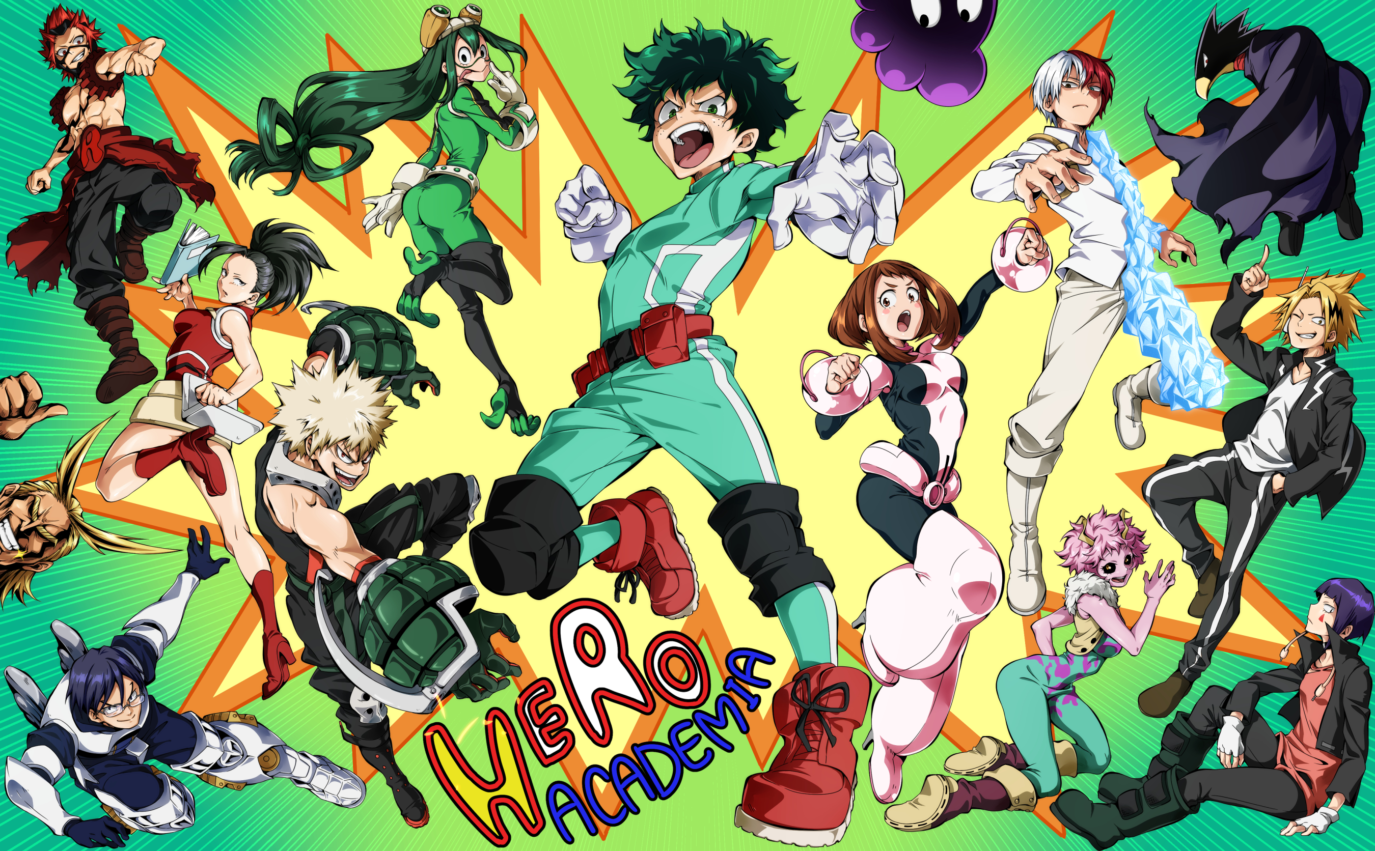 My Hero Academia Hd Wallpaper Background Image 2700x1672