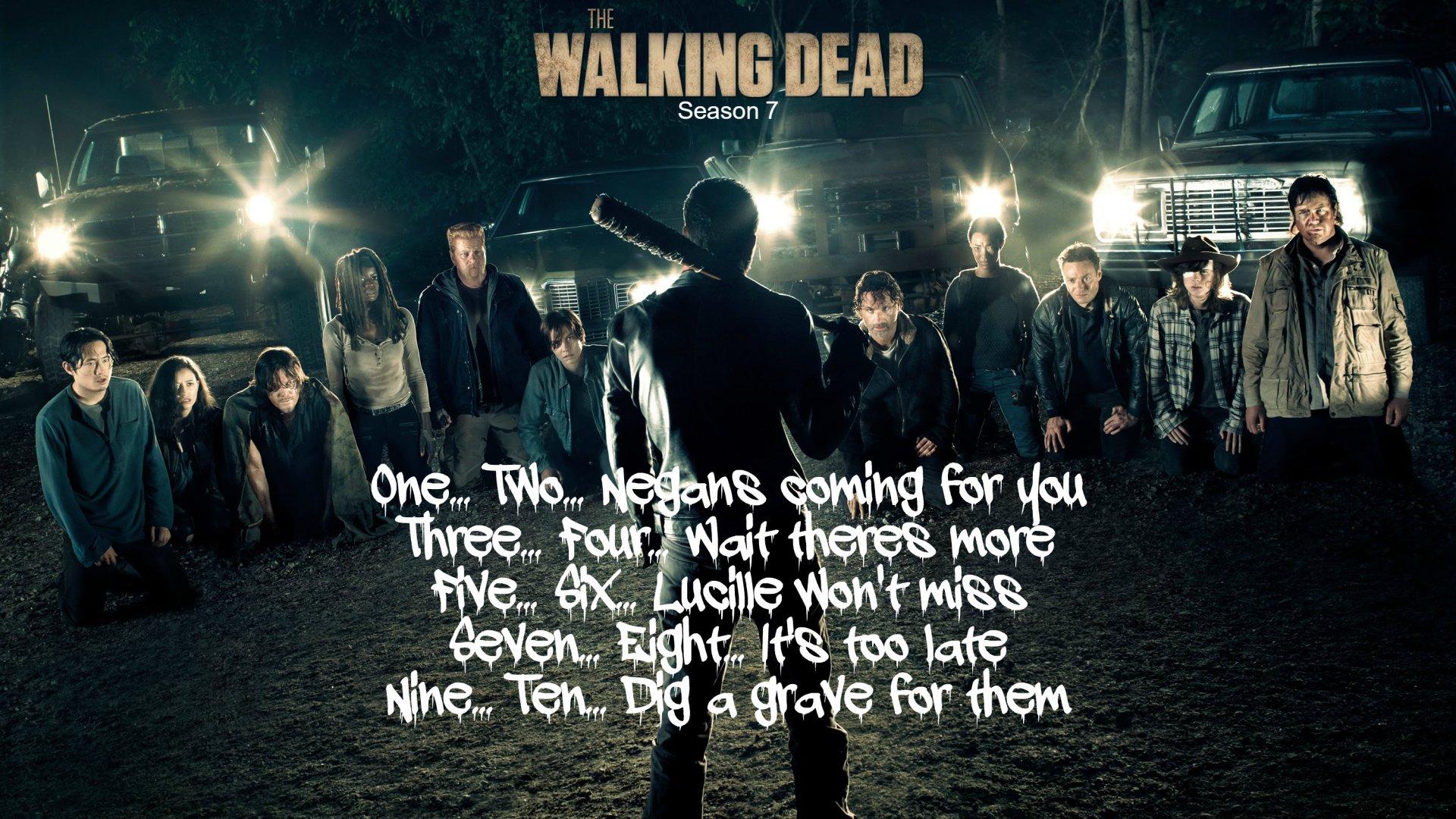 The Walking Dead Negan Wallpaper: Negan's Decision HD Wallpaper