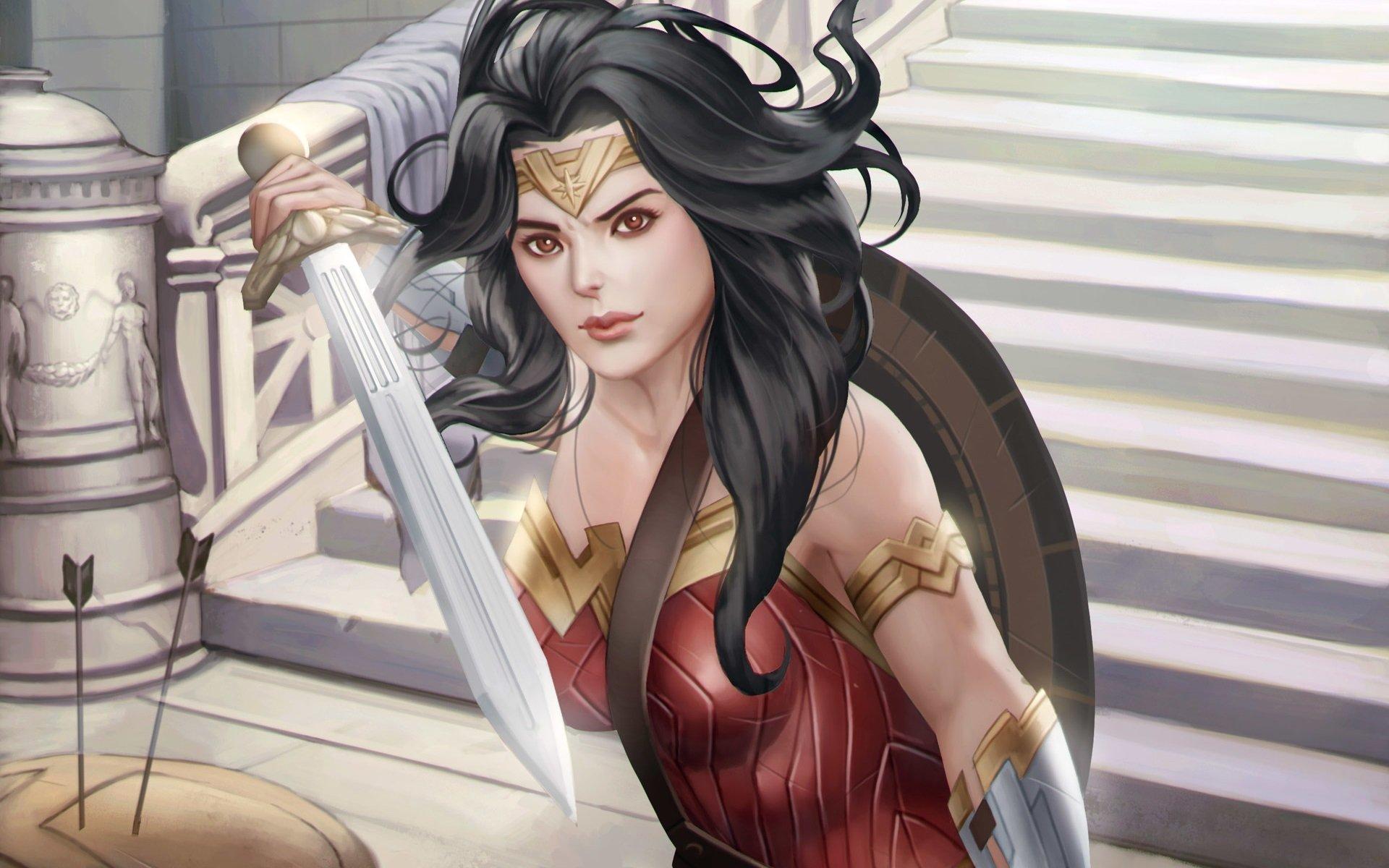 Movie - Batman v Superman: Dawn of Justice  Wonder Woman Diana Prince Wallpaper