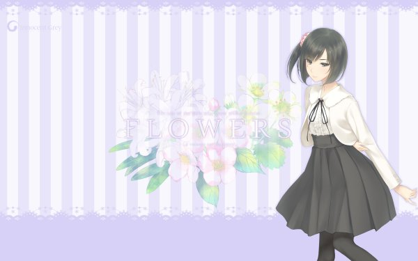 Anime Flowers Ichigo Sasaki HD Wallpaper   Background Image