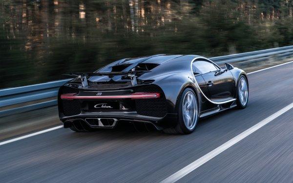 Fahrzeuge Bugatti Chiron Bugatti Supercar Sport Car Autos Black Car HD Wallpaper | Hintergrund