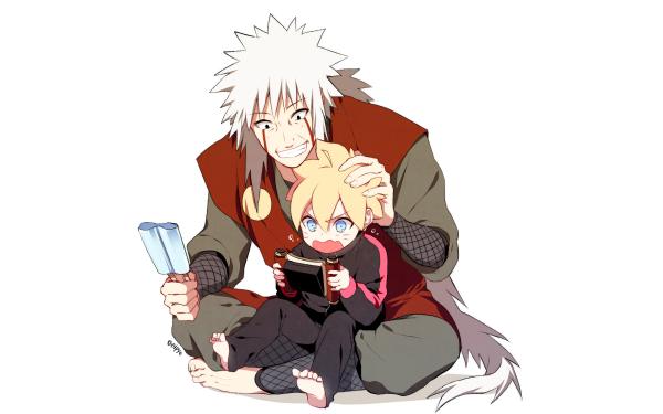 Anime Boruto Naruto Jiraiya Boruto Uzumaki Fondo de pantalla HD | Fondo de Escritorio