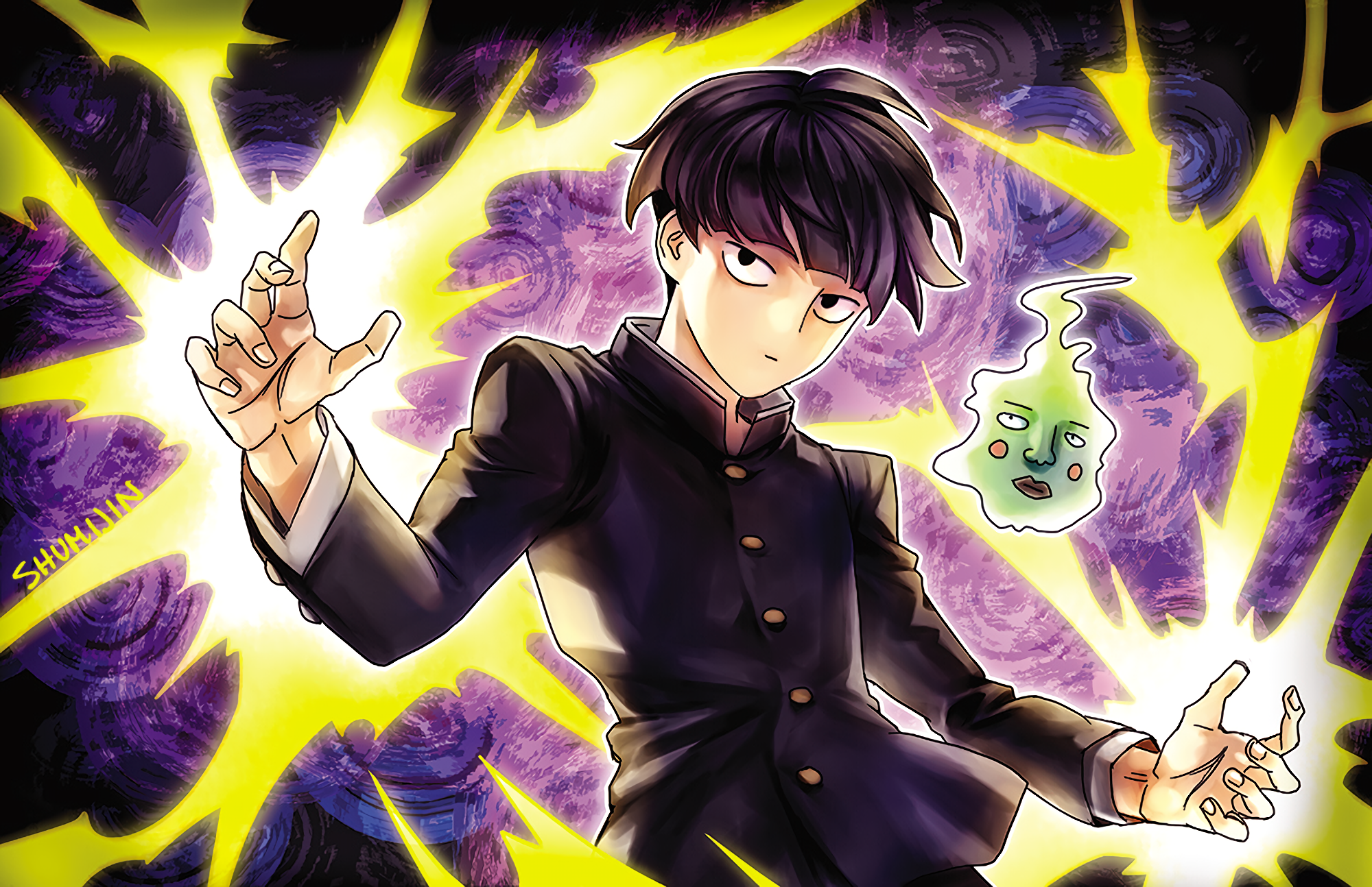 Mob Psycho 100 HD Wallpaper | Background Image | 2000x1294 ...