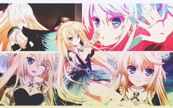 Anime Absolute Duo Lilith Bristol HD Wallpaper | Background Image