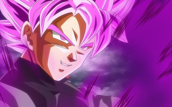 Anime Dragon Ball Super Dragon Ball Black Black Goku SSR Black Fond d'écran HD | Arrière-Plan