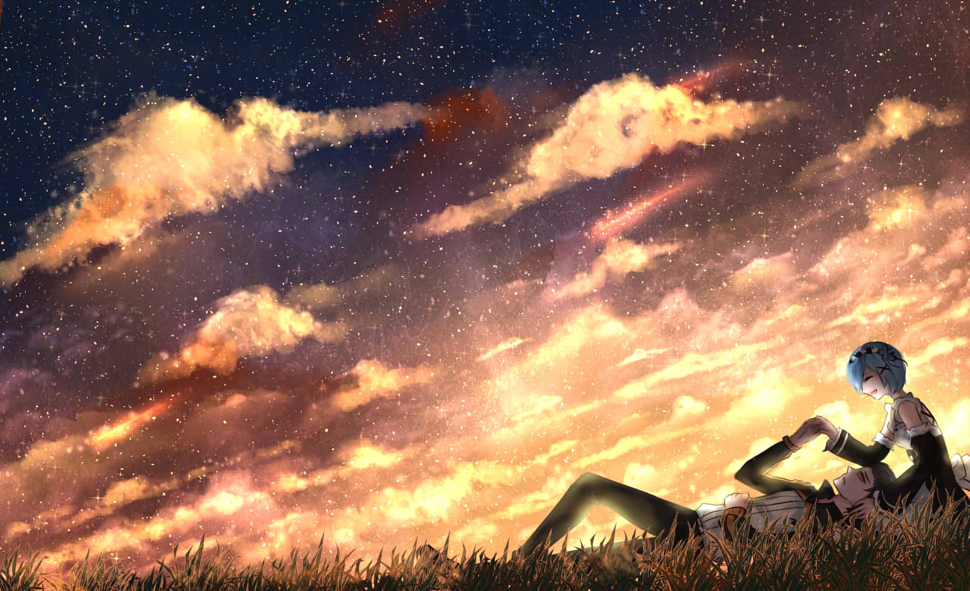 Anime Wallpapers Re:Zero kara Hajimeru Isekai Seikatsu HD 4K Download For Mobile iPhone & PC