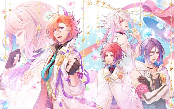 Anime Binary Star HD Wallpaper   Background Image