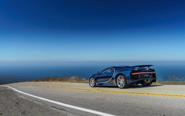 Fahrzeuge Bugatti Chiron Bugatti Blue Car Autos Supercar Sport Car HD Wallpaper | Hintergrund