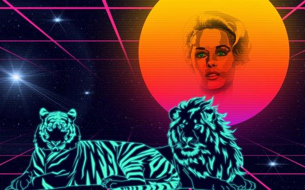 Sci Fi Artistic Vaporwave Retro Wave Outrun HD Wallpaper | Background Image