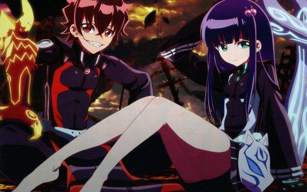 Anime Twin Star Exorcists Rokuro Enmadou Benio Adashino HD Wallpaper | Background Image
