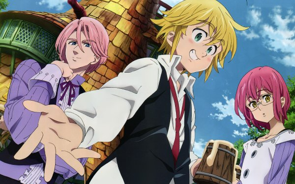 Anime The Seven Deadly Sins Gilthunder Gowther Meliodas HD Wallpaper | Background Image
