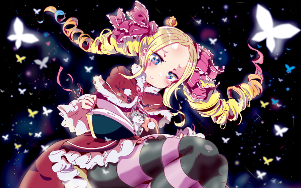 Anime Re:ZERO -Starting Life in Another World- Beatrice Pack HD Wallpaper   Background Image