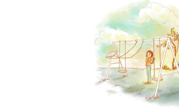 Anime Nichijō Nano Shinonome HD Wallpaper | Background Image