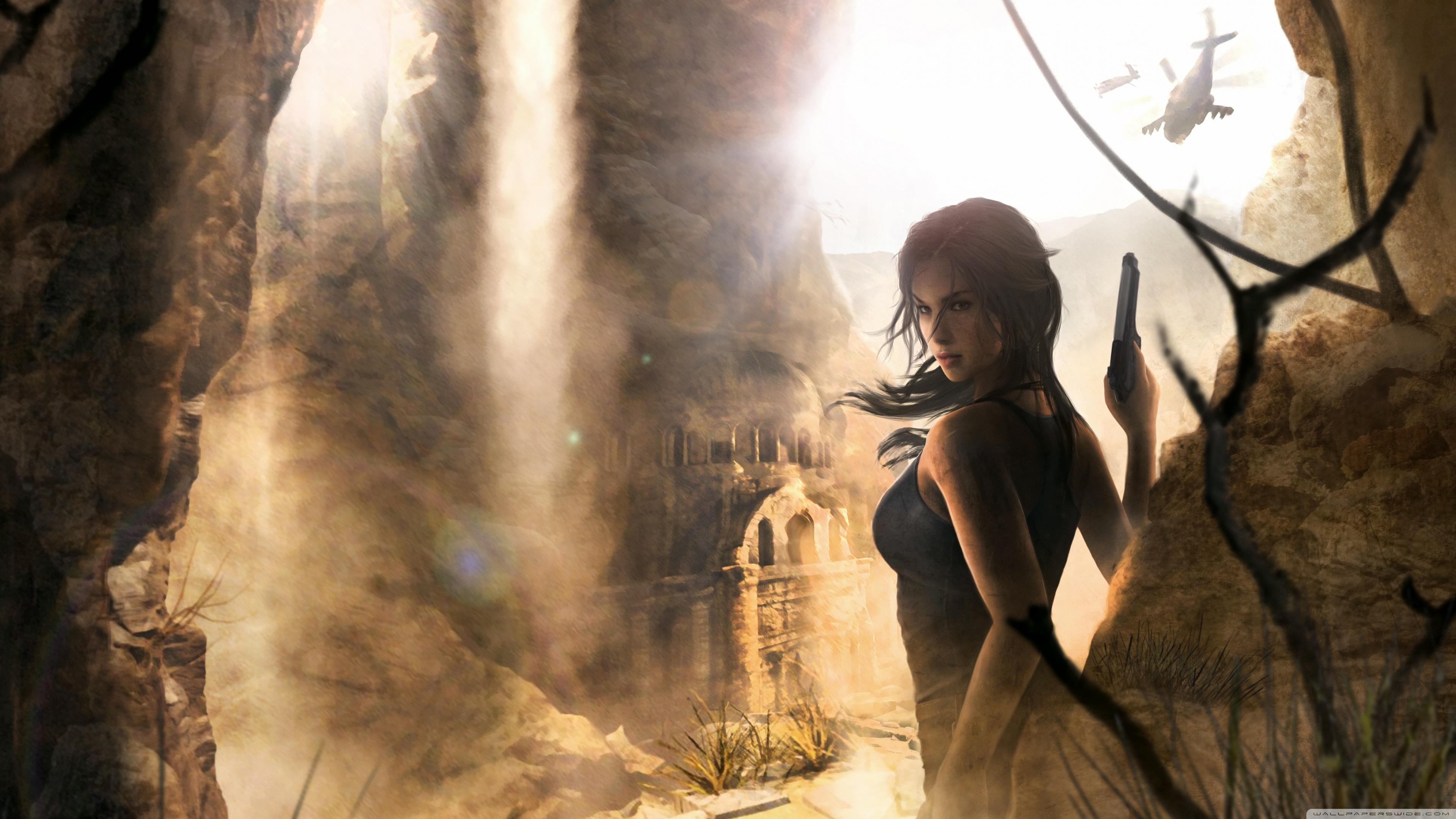 Rise Of The Tomb Raider 4k Ultra Fondo De Pantalla Hd