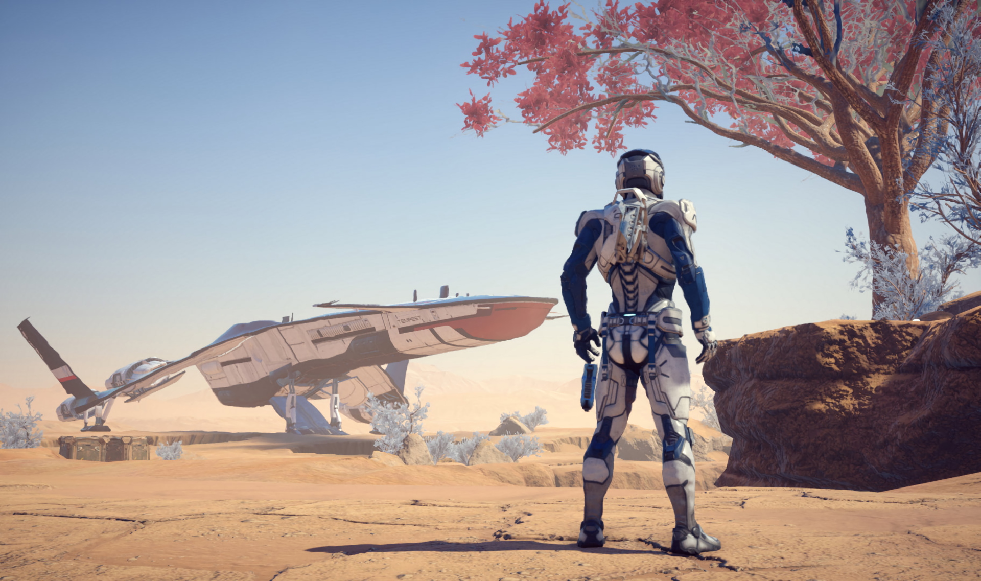 Mass Effect Andromeda HD Wallpaper