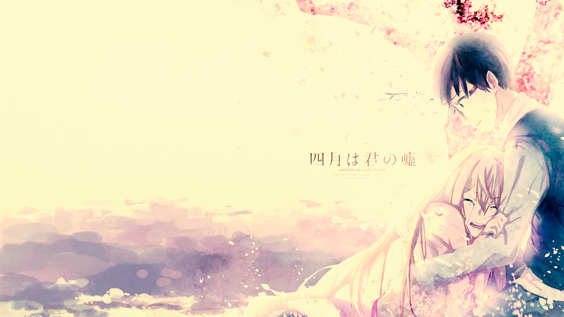 Your Lie In April Hd Wallpaper Background Image
