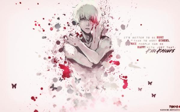 Anime Tokyo Ghoul Ken Kaneki HD Wallpaper   Background Image