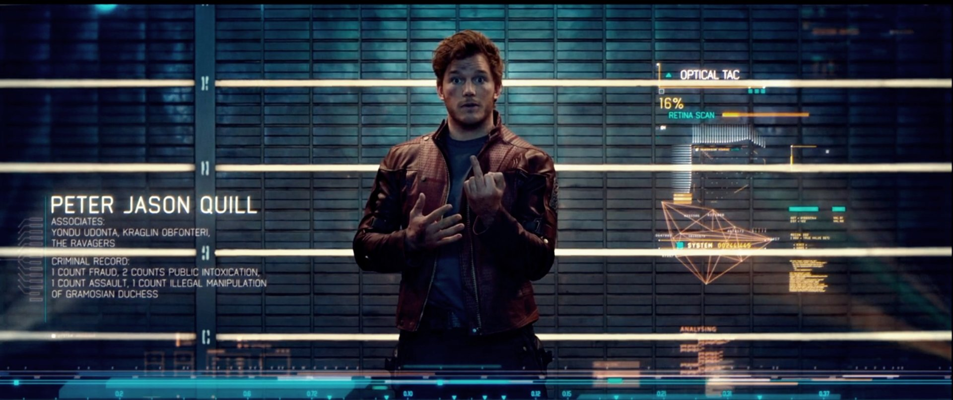 Movie - Guardians of the Galaxy  Star Lord Peter Quill Wallpaper