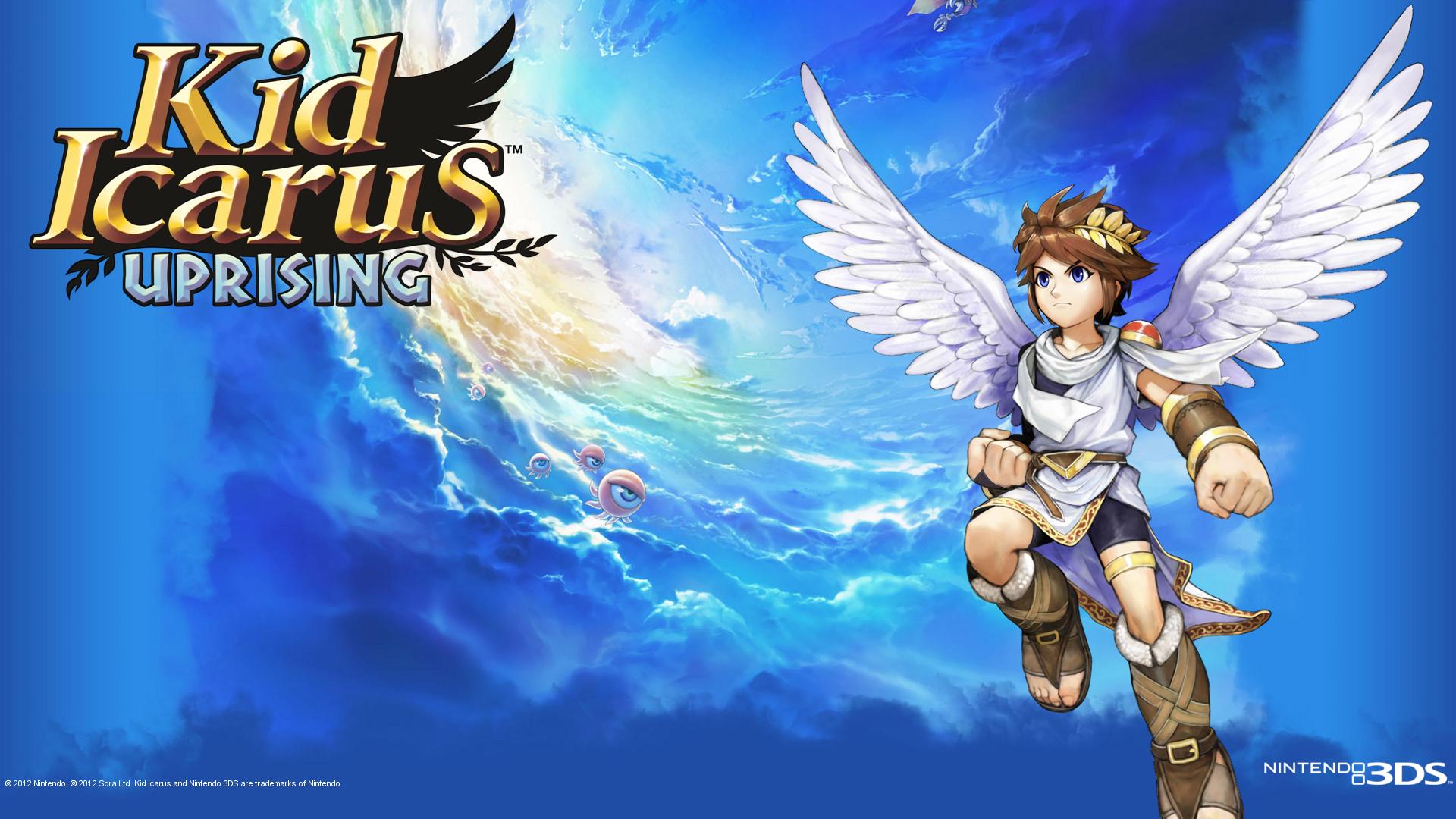 Kid Icarus Uprising Fondo De Pantalla Hd Fondo De
