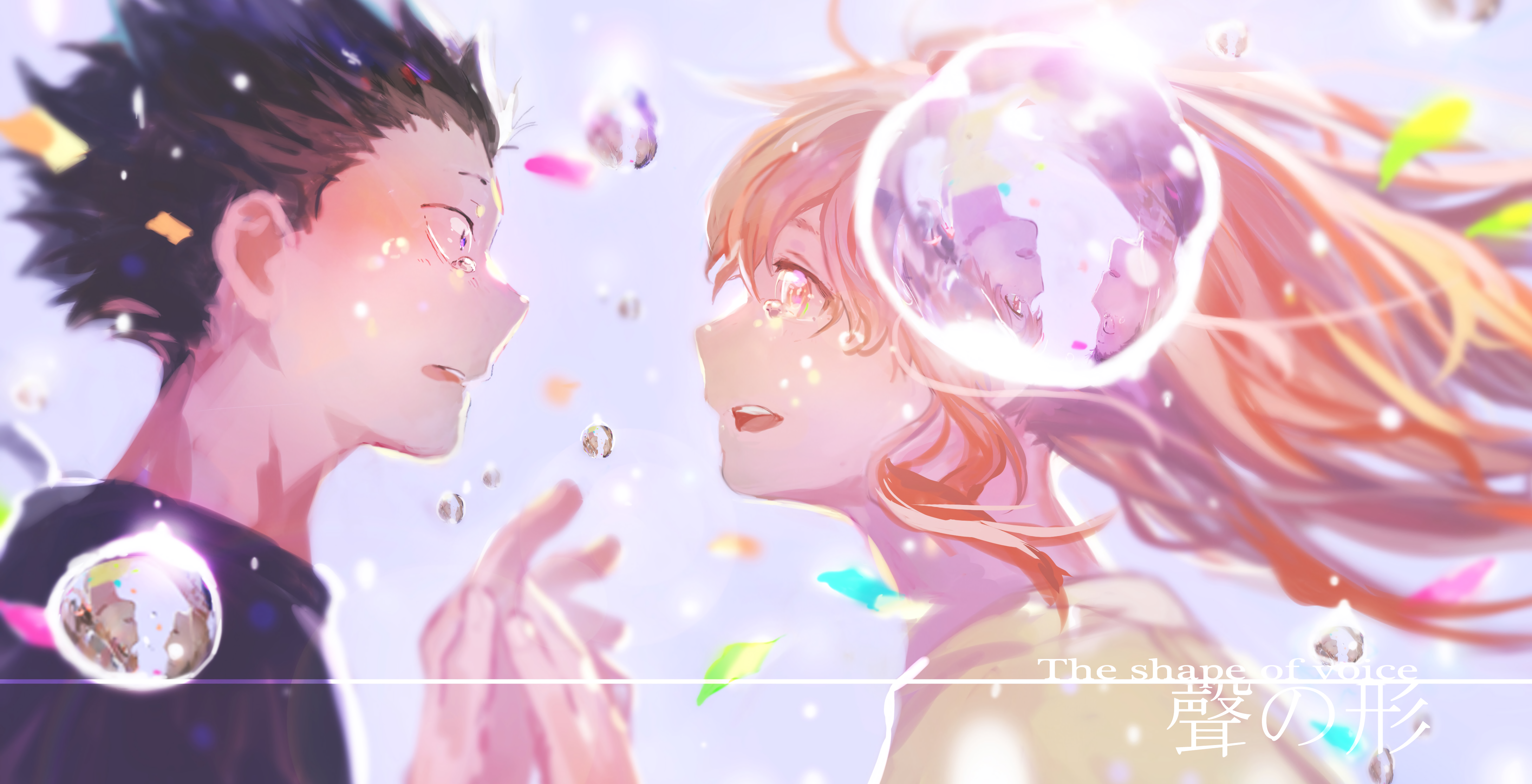 Koe no katachi 4k ultra hd wallpaper and background for Koi no katachi