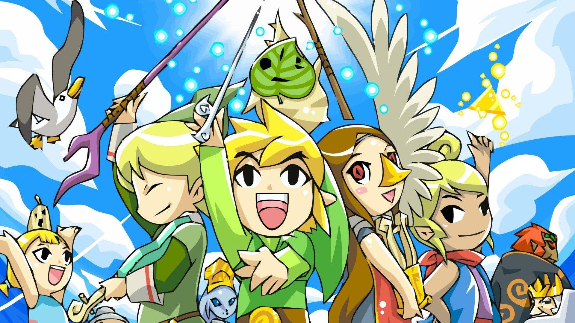 The Legend Of Zelda The Wind Waker Fondo De Pantalla Hd