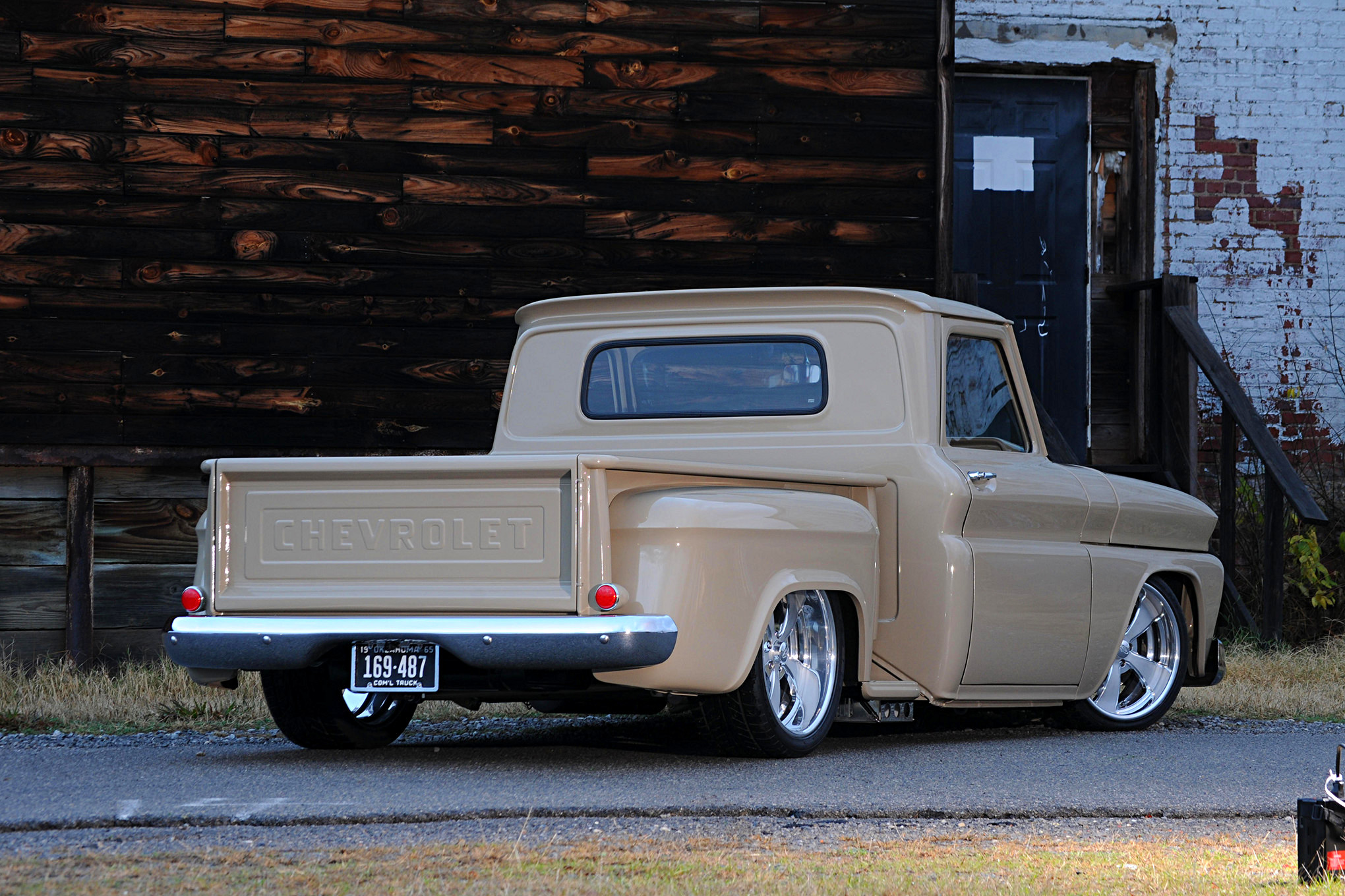 1965 Chevrolet C10 Hd Wallpaper Background Image