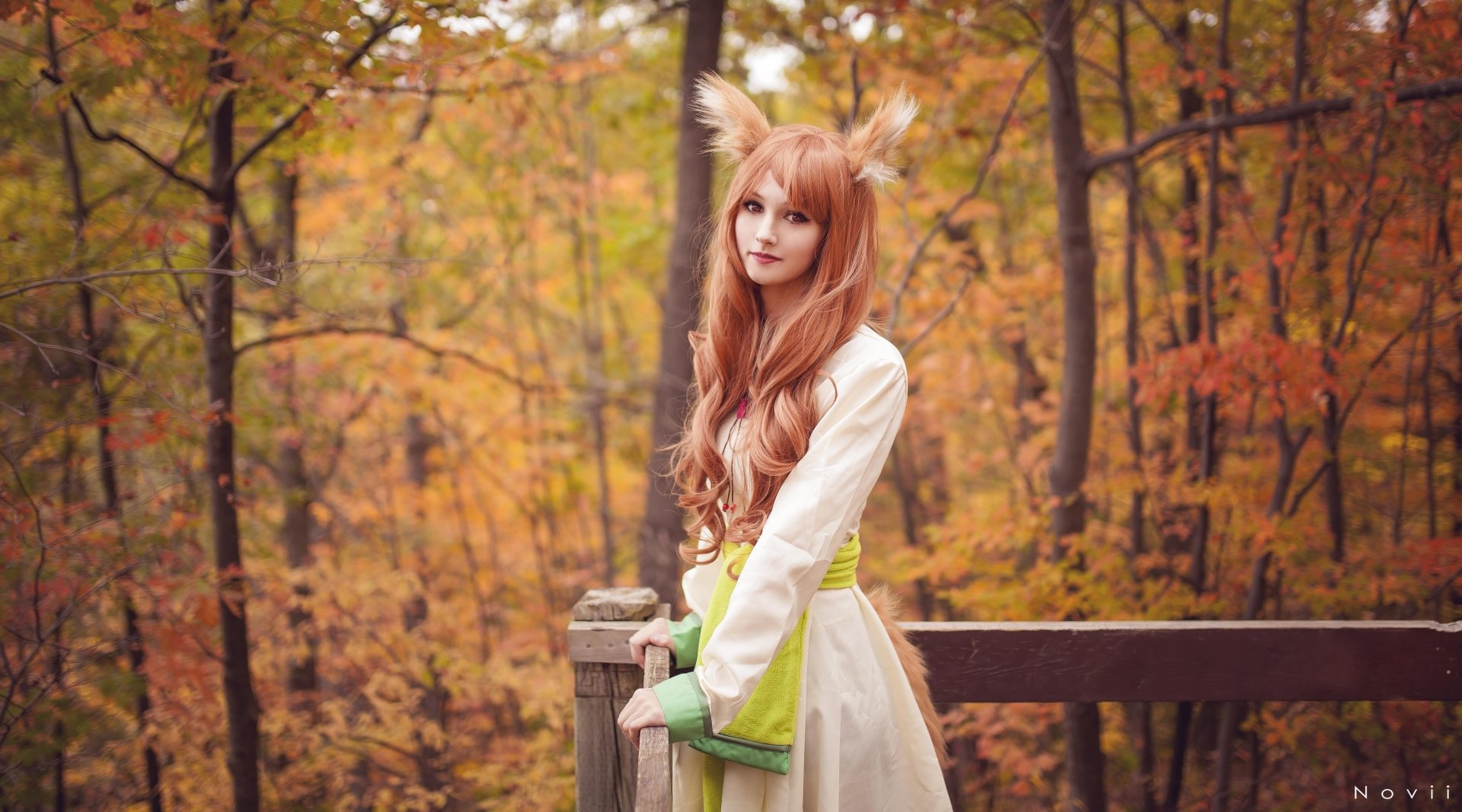 Women - Cosplay  Holo (Spice & Wolf) Spice and Wolf Woman Wallpaper