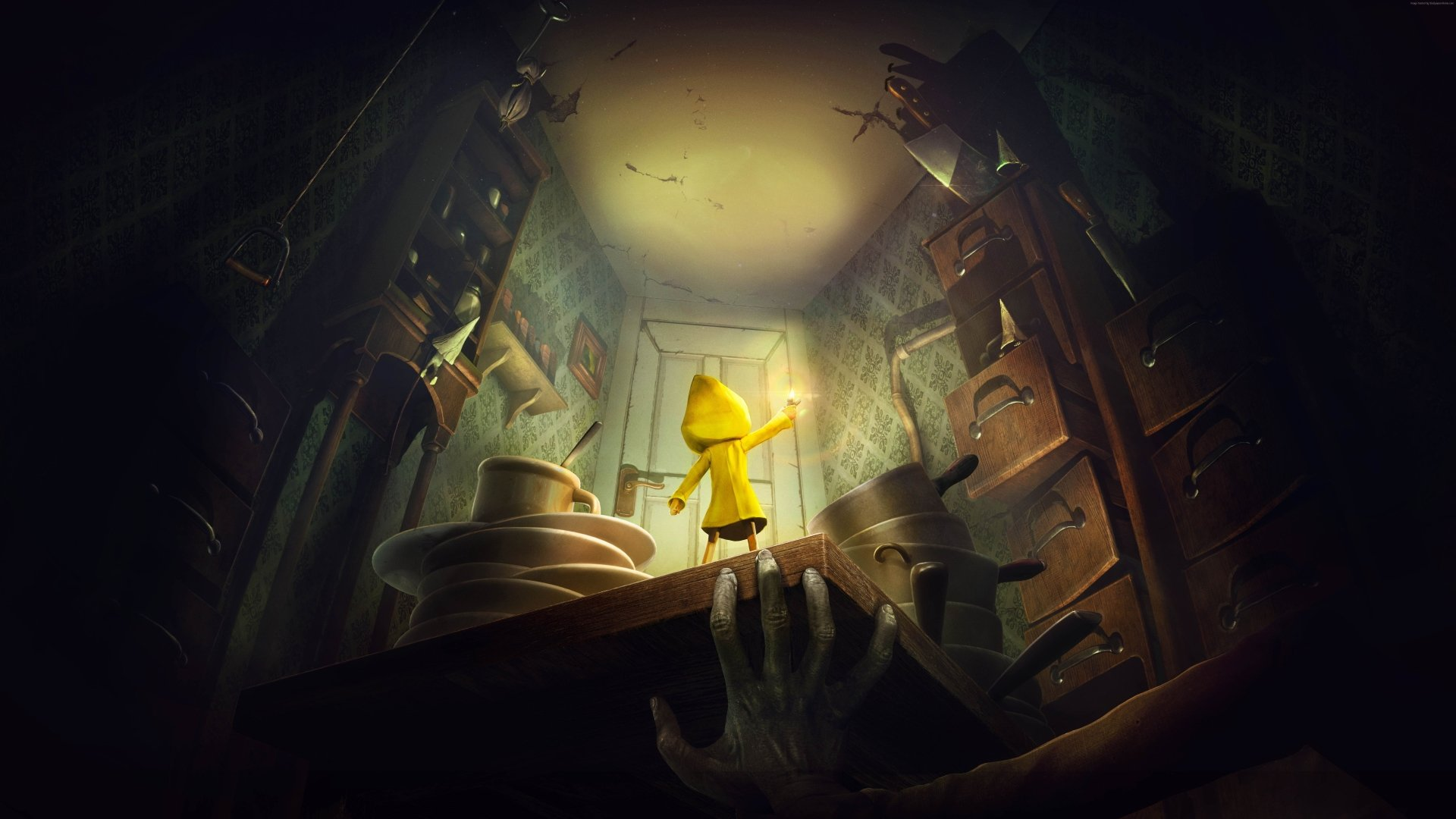 Video Game - Little Nightmares  Six (Little Nightmares) Wallpaper