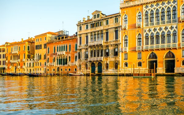 Man Made Venice Cities Italy Grand Canal House Building Architecture HD Wallpaper | Background Image