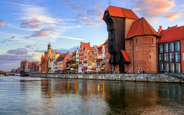 Man Made Gdansk Towns Poland House Town City HD Wallpaper | Background Image