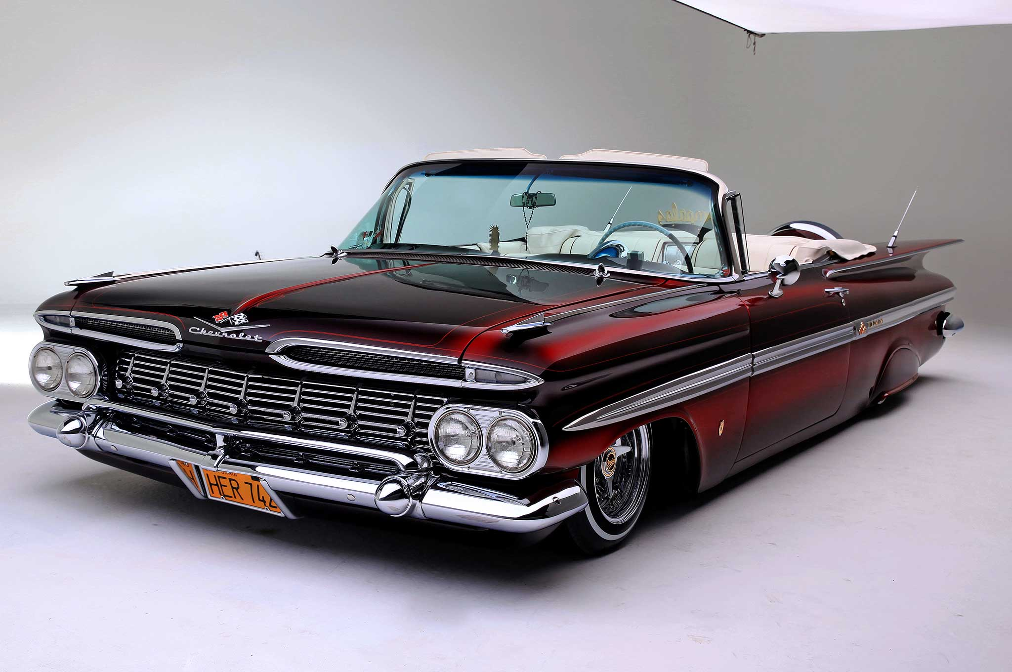 4 1959 Chevrolet Impala Convertible HD Wallpapers  Background Images  Wallpaper Abyss