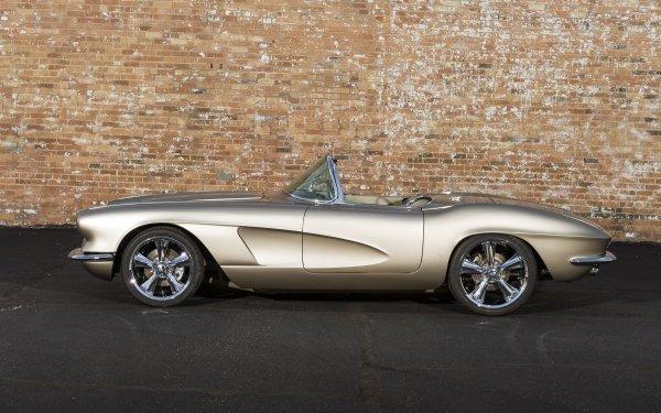 Vehicles Chevrolet Corvette Chevrolet Corvette 1962 Chevrolet Corvette Convertible Muscle Car Hot Rod HD Wallpaper | Background Image