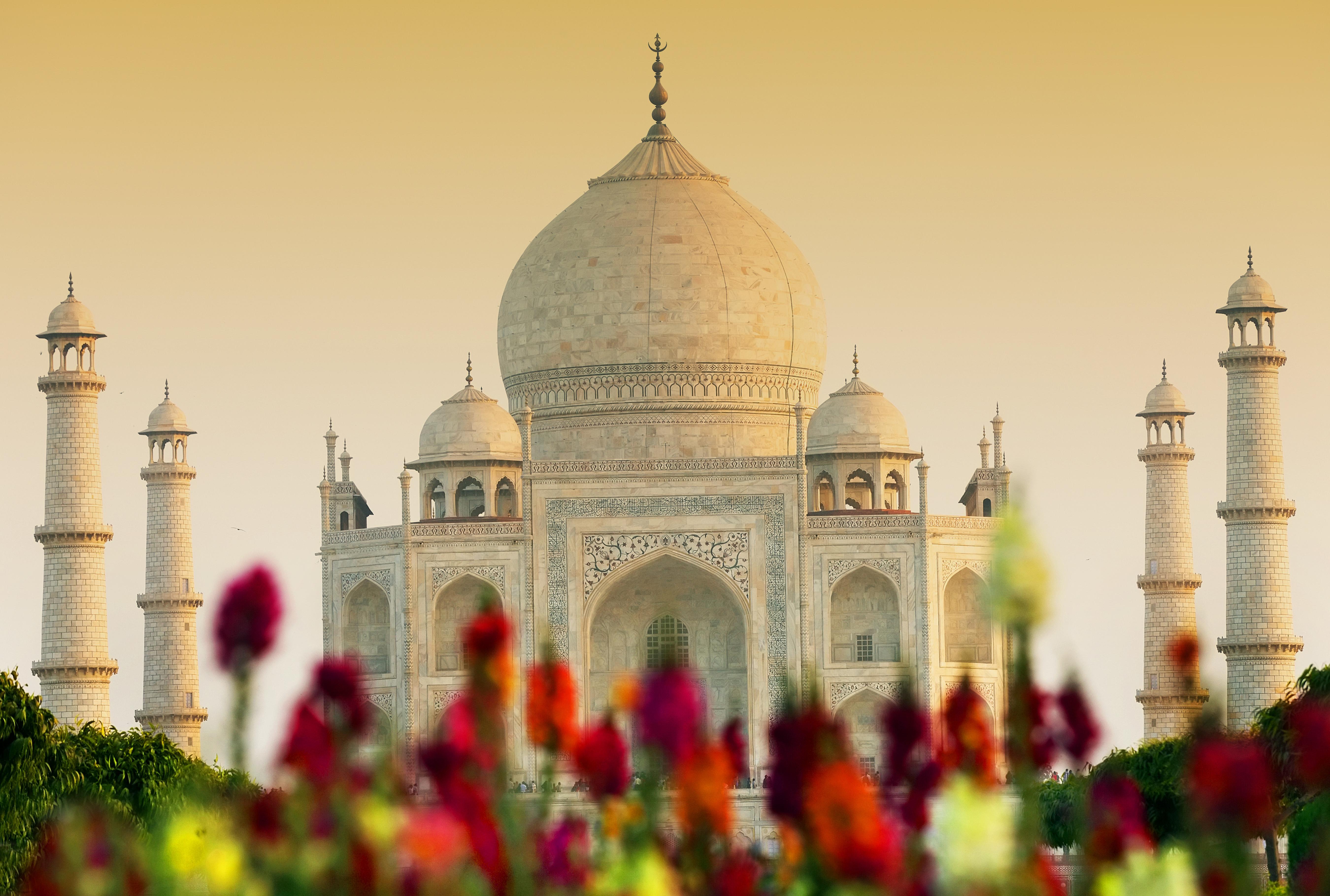 Taj Mahal 5k Retina Ultra HD Wallpaper | Background Image ...