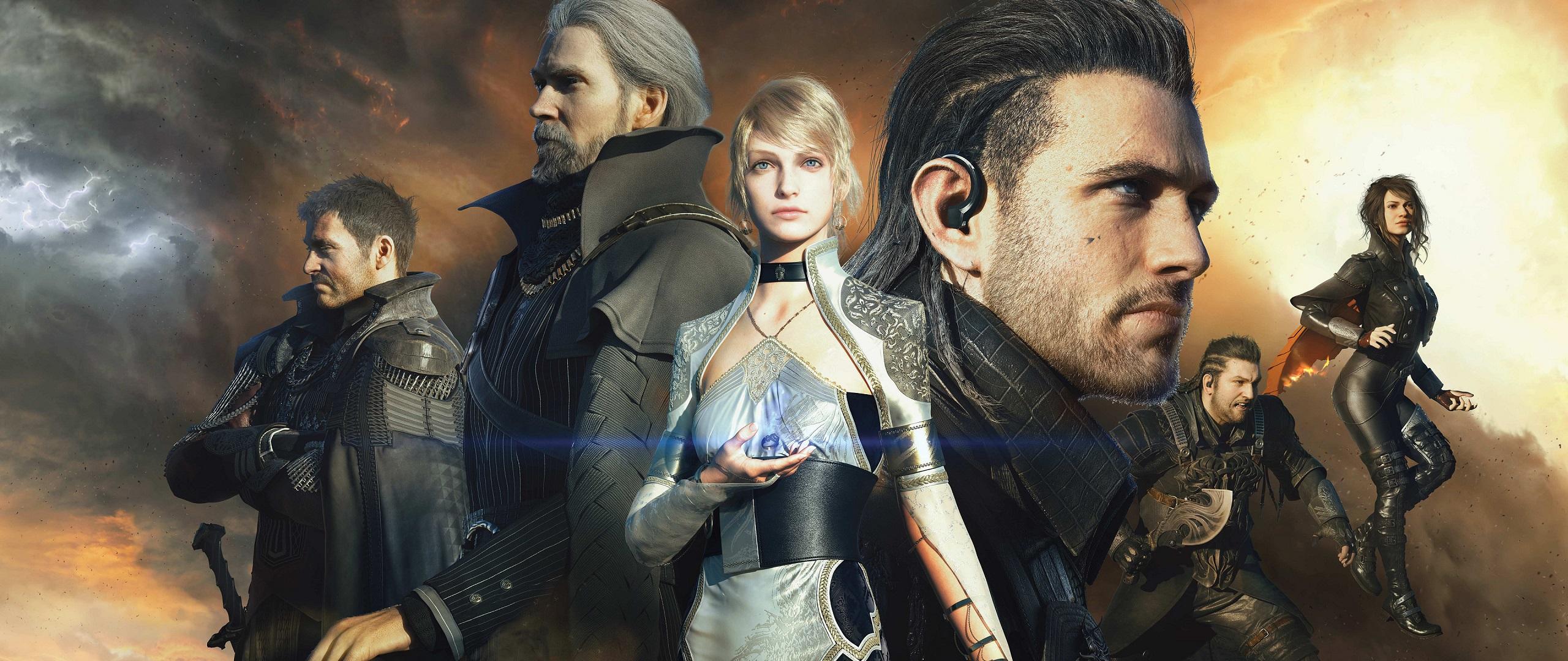 2560x1080 Luna Final Fantasy Xv 4k 2560x1080 Resolution Hd: Kingsglaive Final Fantasy XV HD Wallpaper