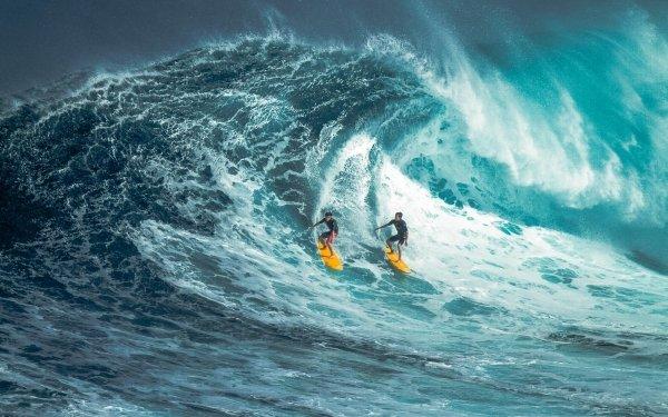 Sports Surfing Wave Surfer Ocean HD Wallpaper | Background Image