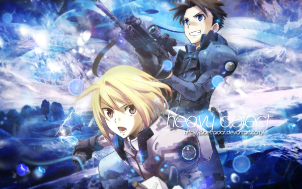 Anime Heavy Object HD Wallpaper | Background Image