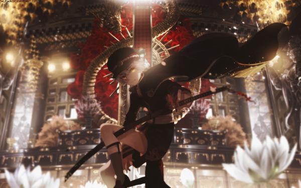 Anime Touken Ranbu Hotarumaru HD Wallpaper   Background Image