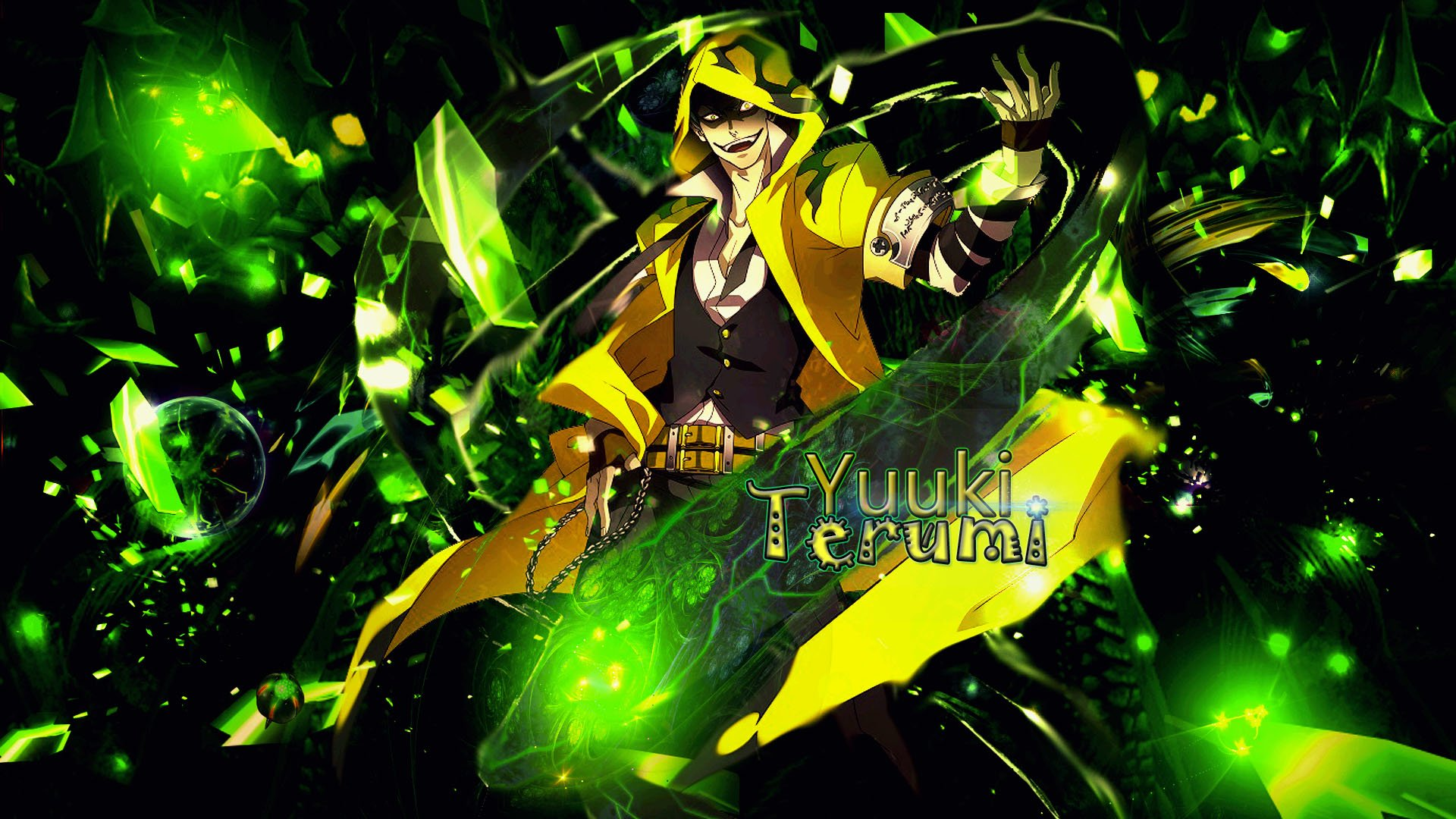 Anime - Blazblue  Yūki Terumi Anime Wallpaper