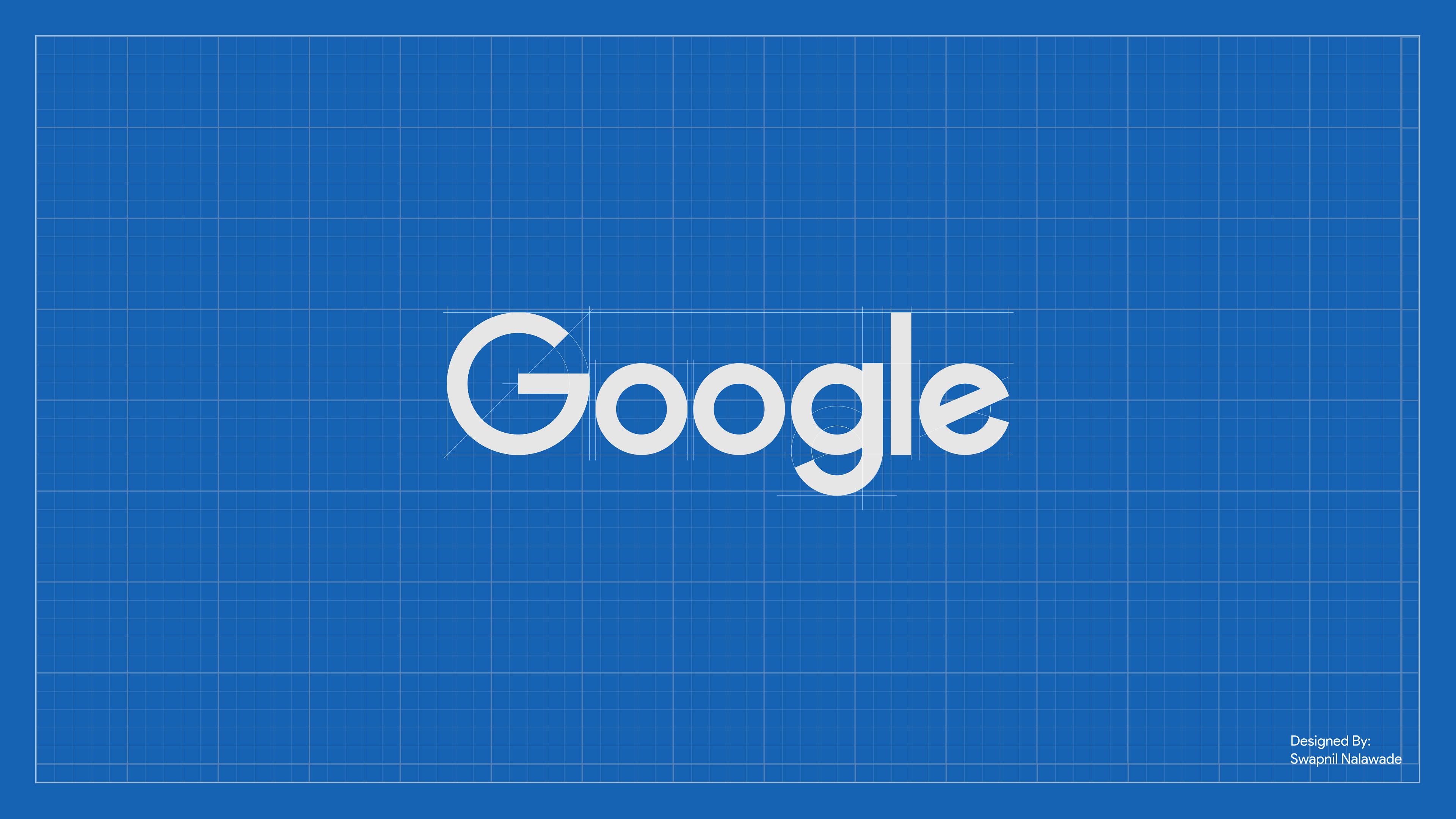Google Logo Blueprint 4K Wallpaper 16:9 4k Ultra HD Wallpaper and ...