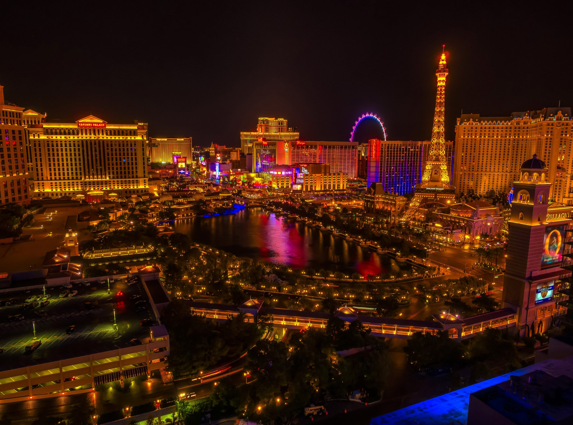 Nighttime In Las Vegas 4k Ultra HD Wallpaper