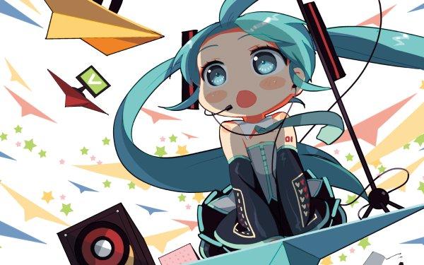 Anime Vocaloid Hatsune Miku Hachune Miku HD Wallpaper | Background Image