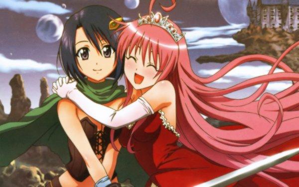 Anime To Love-Ru Lala Satalin Deviluke Haruna Sairenji HD Wallpaper | Background Image