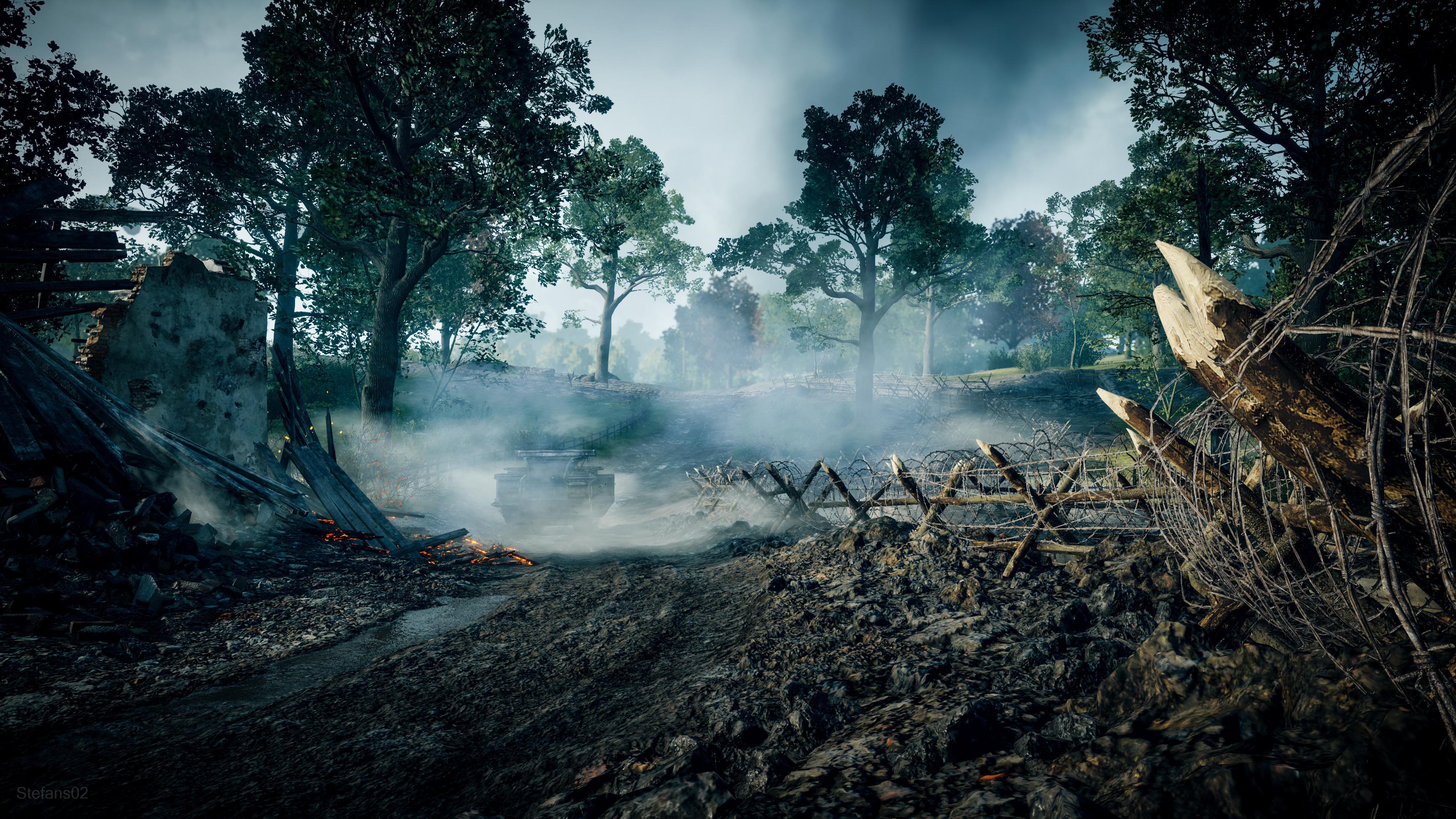 Battlefield 1 4k Ultra Tapeta Hd: Battlefield 1 / From The Mist 4k Ultra HD Wallpaper