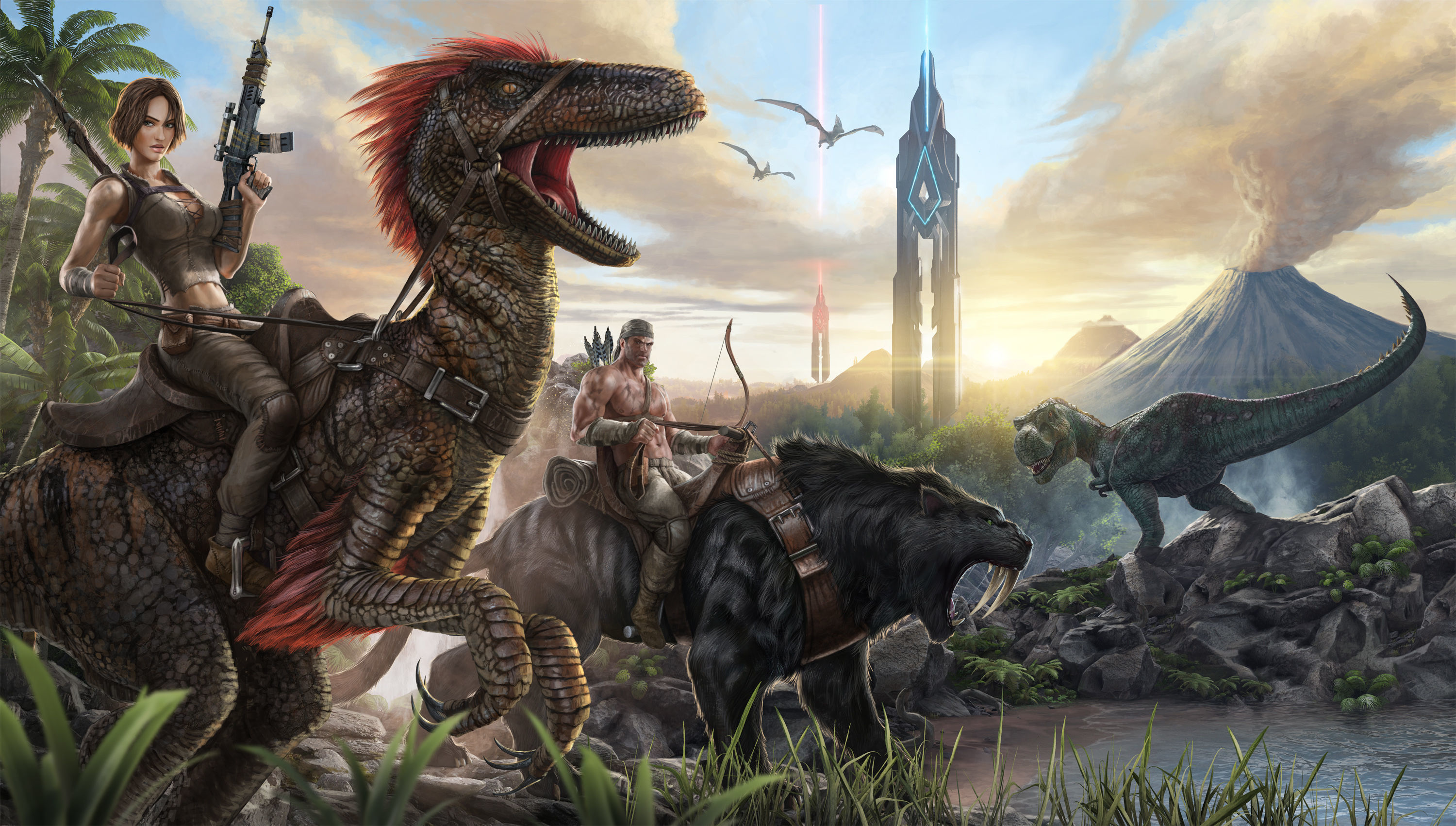 Hd Wallpaper Background Image Id X Video Game Ark Survival Evolved
