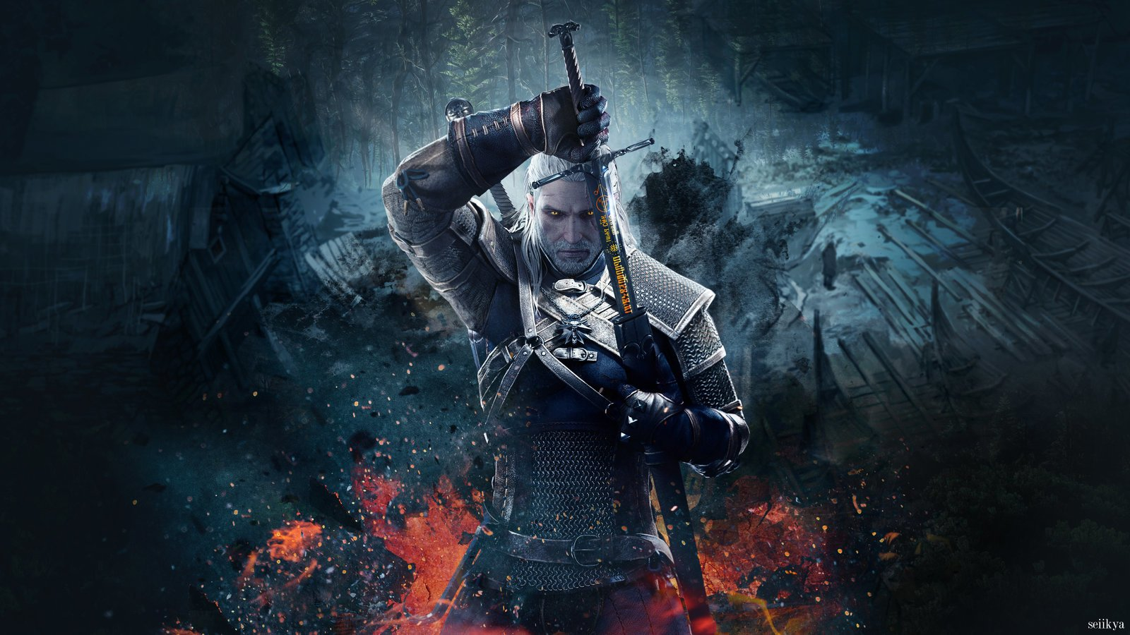 The Witcher 3: Wild Hunt Wallpaper and Backgrounds | 1600x900 | ID: 753199 ...