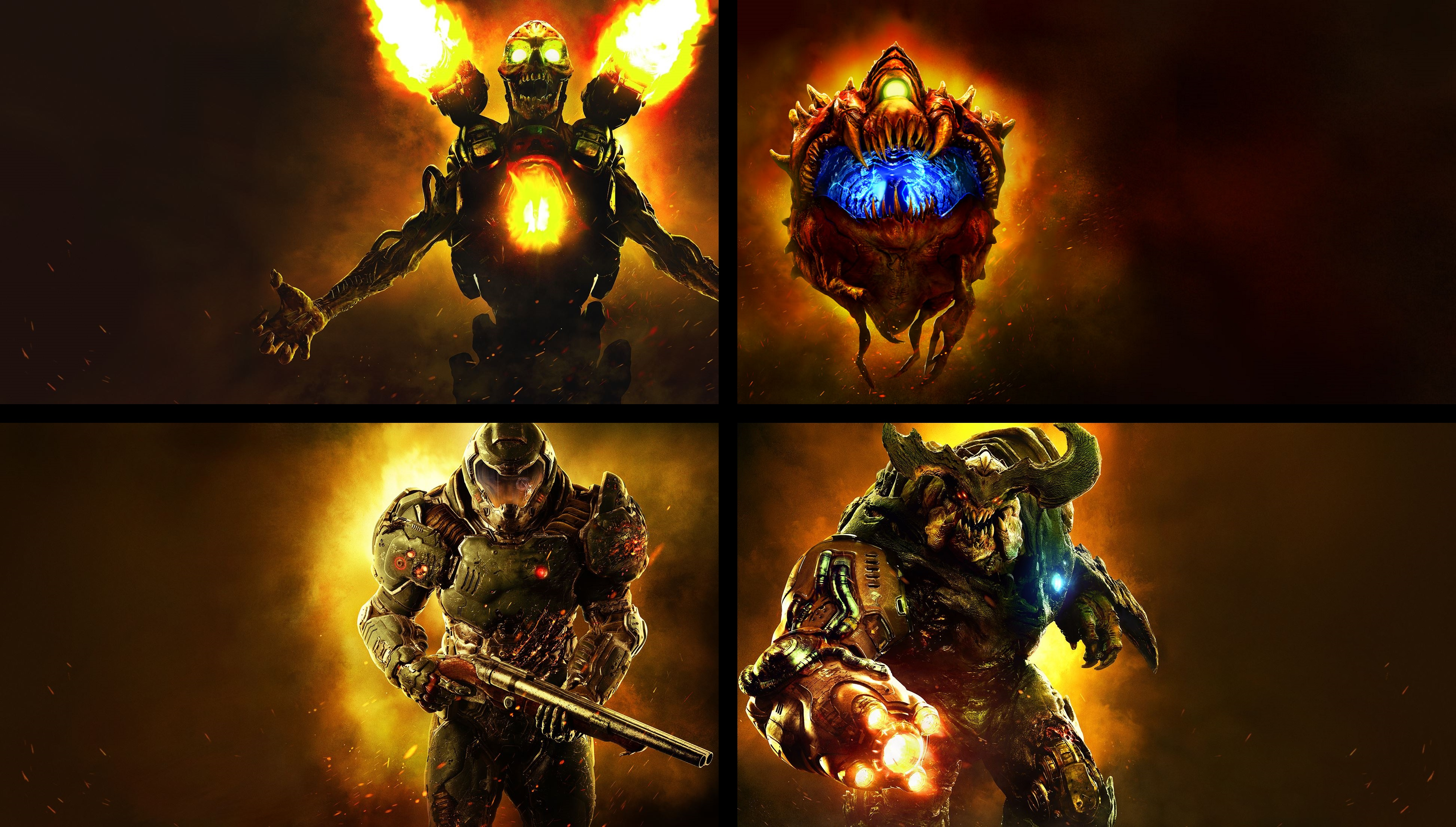 10 4k ultra hd doom (2016) wallpapers | background images